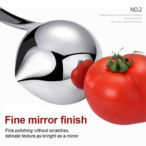 Creative Oil Soup Filter Steel Spoon Hot Pot Kitchenware