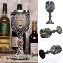 Load image into Gallery viewer, Stainless Steel Wolf Goblet