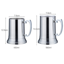 Load image into Gallery viewer, Stainless Steel Stein/Beer Mug