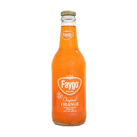 Faygo Orange Pop