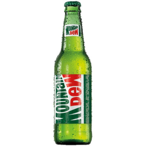 Mountain Dew Glass Bottle Discontinued