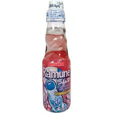 Ramune Strawberry Soda