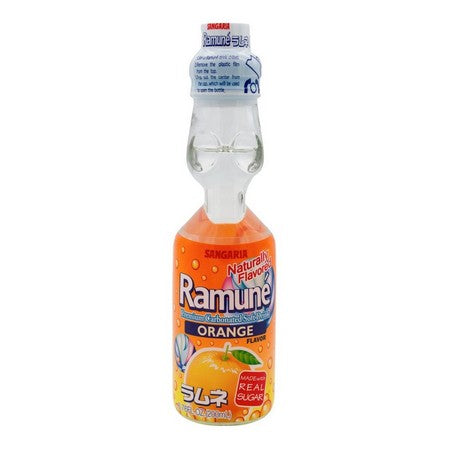 Ramune Orange Soda