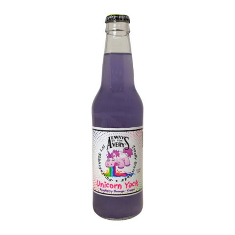 Totally Gross Unicorn Yack Soda