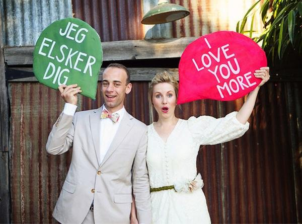 Weddings Around the World: Denmark, Jeg elsker dig!