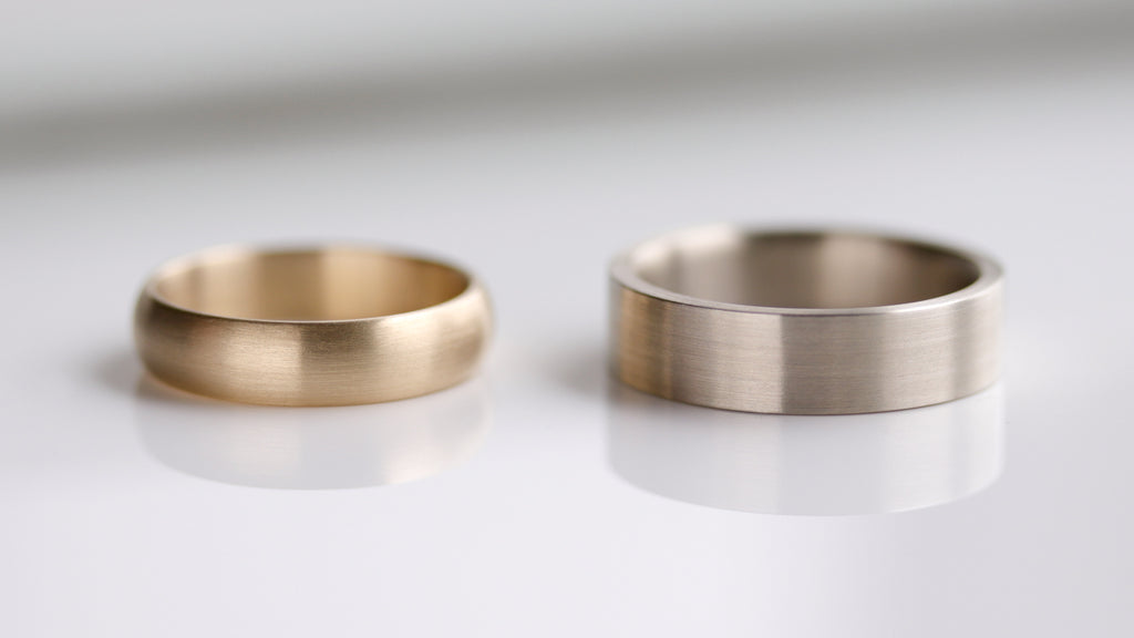 Wide Smooth Band Rings