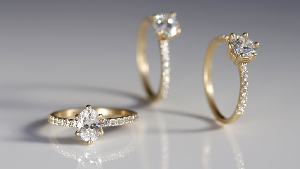 Multi-stone Engagement Rings