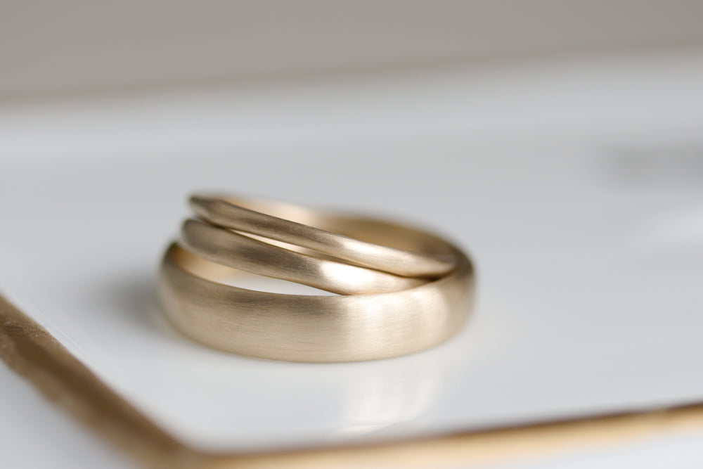 Cheap Wedding Rings Sets For Him And Her.Handmade In Seattle Custom Eco Friendly And Ethical Men S