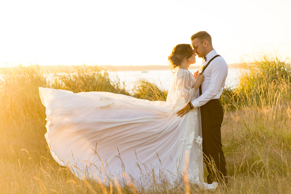 Styled Shoot at Ray's Boathouse by the Eventists and dress by Brides for a Cause