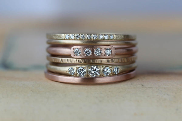 6625de21a30f8 Tips & Tricks for Stacking Your Rings, blog post—Aide-mémoire Jewelry