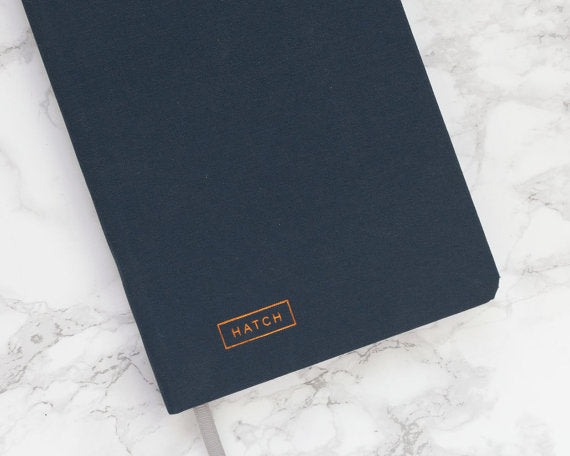 Hatch Notebook for Makers & Entrepreneurs / Creative project planner, idea journal, business planner, and sketchbook / Gifts for designers — by TwoTmbleweeds