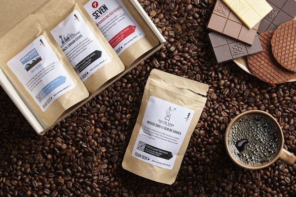 Bean Box's Coffee Sampler Subscription Box, roasted in Seattle