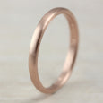 2mm Low-Dome Wedding Band •