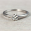 4mm Octagon Engagement Ring •