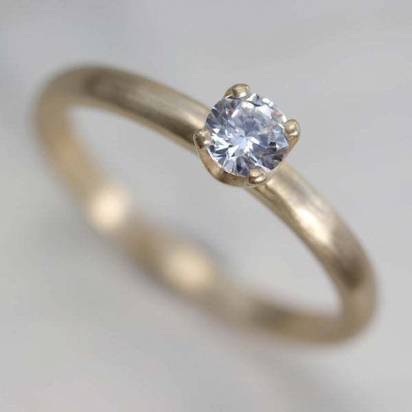 4mm Crown Solitaire