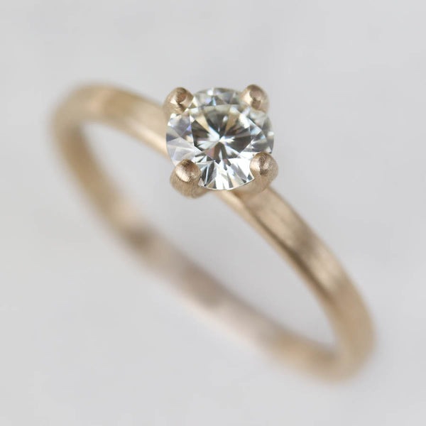 Size 6.75 - 5mm Edgeless Solitaire