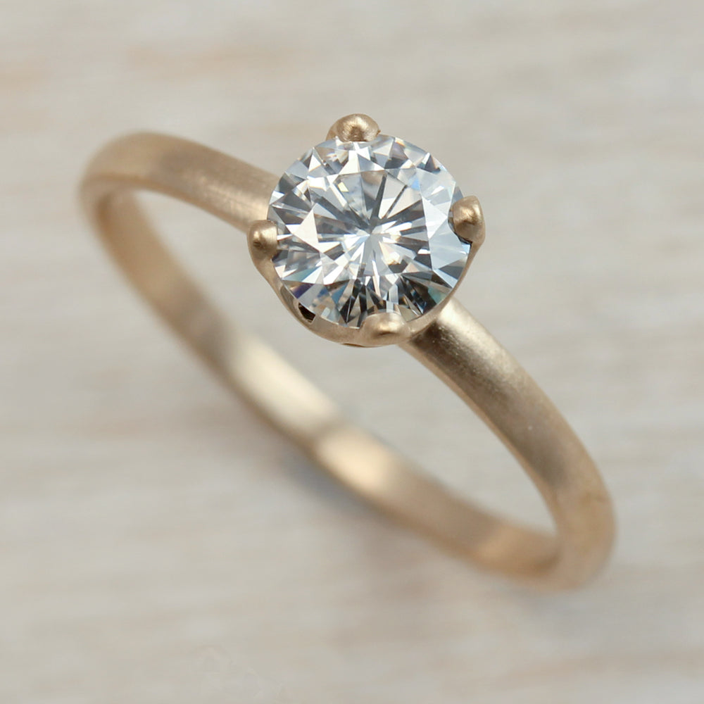 6mm or 7mm Crown Solitaire