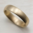 Men's Chunky Hand-carved Classic Band, Men's Wedding Bands - Aide-mémoire Jewelry