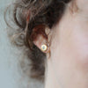 Smooth Bead-Set Stud Earrings