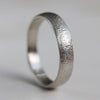 5mm Wide Ancient Rustic Textured Band •