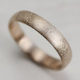 Europa Moon Texture Hand-carved Classic Band