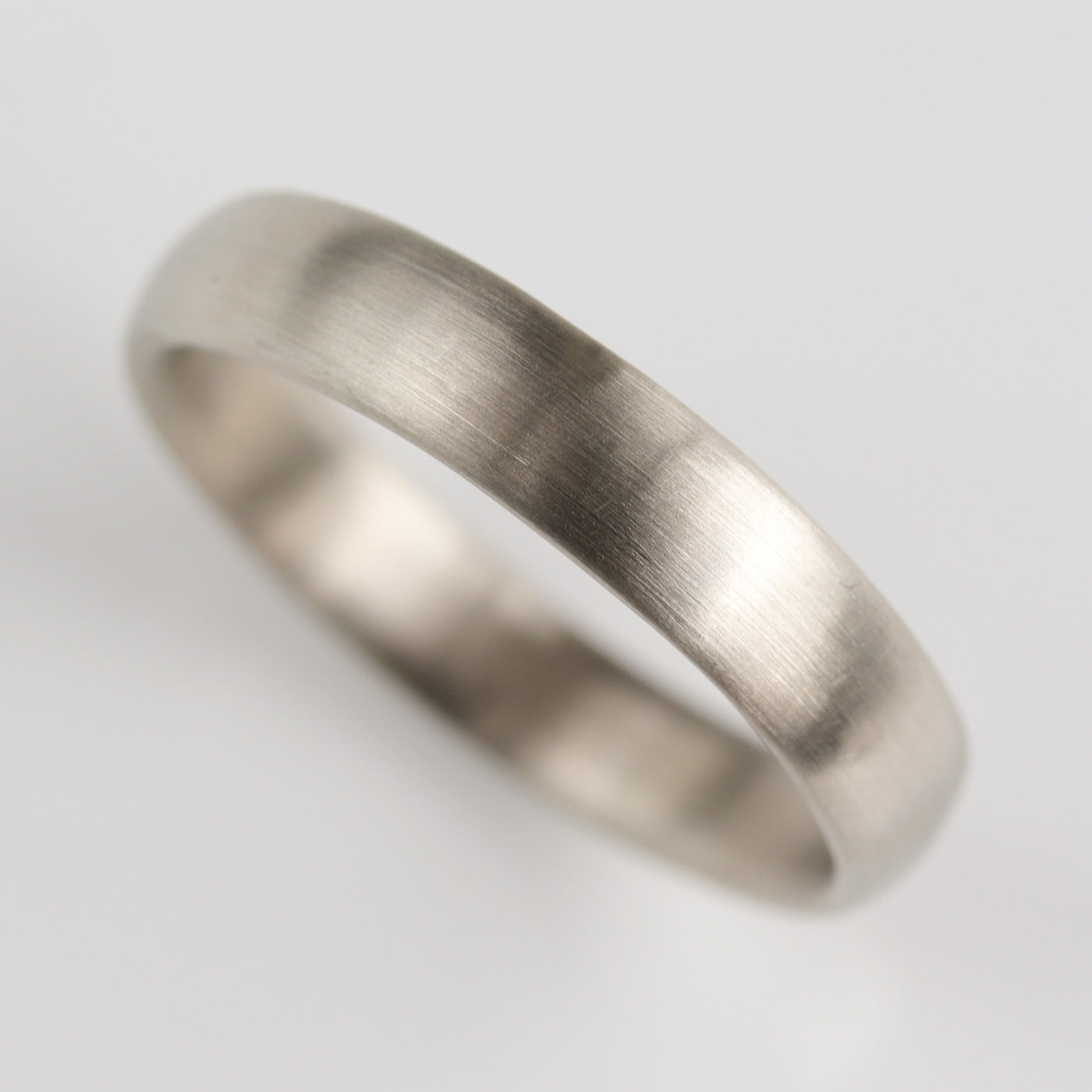 Size 10 - 4mm Hand-carved Classic Band