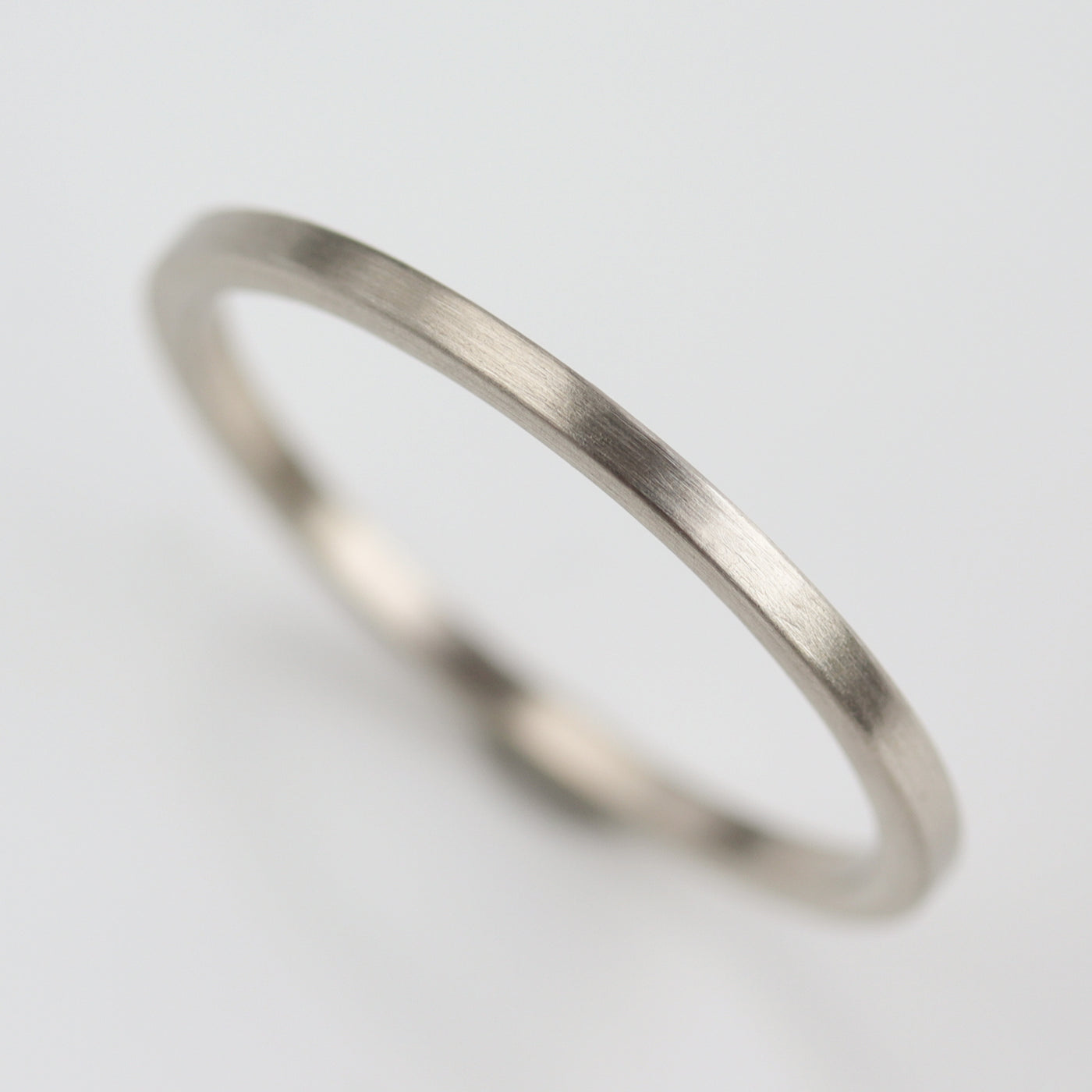 Size 7 - 1.25mm Smooth Square Band
