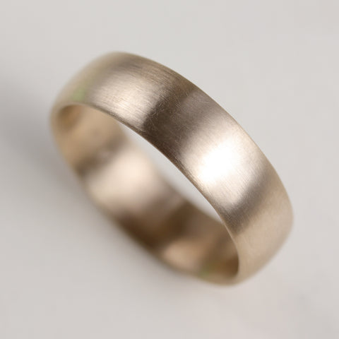 Wide Hand-Carved Classic Band