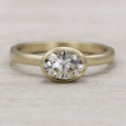 In-Stock 7x5mm Oval Bezel Solitaire