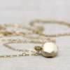 Round Faceted Pendant, Necklace - Aide-mémoire Jewelry