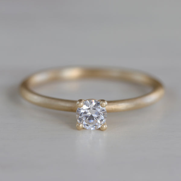 4mm Basket Solitaire •