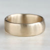 Wide Sculpted Stacking Ring, Alternative Wedding Band - Aide-mémoire Jewelry