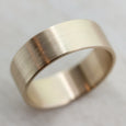 Wide Slimmest Fitting Flat Wedding Band