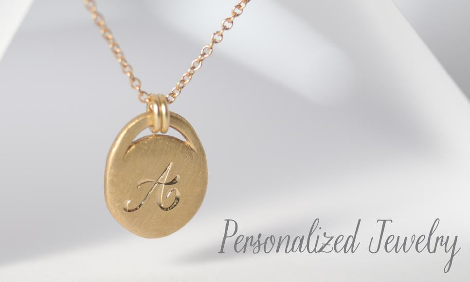 Personalized Custom Monogram Pendant