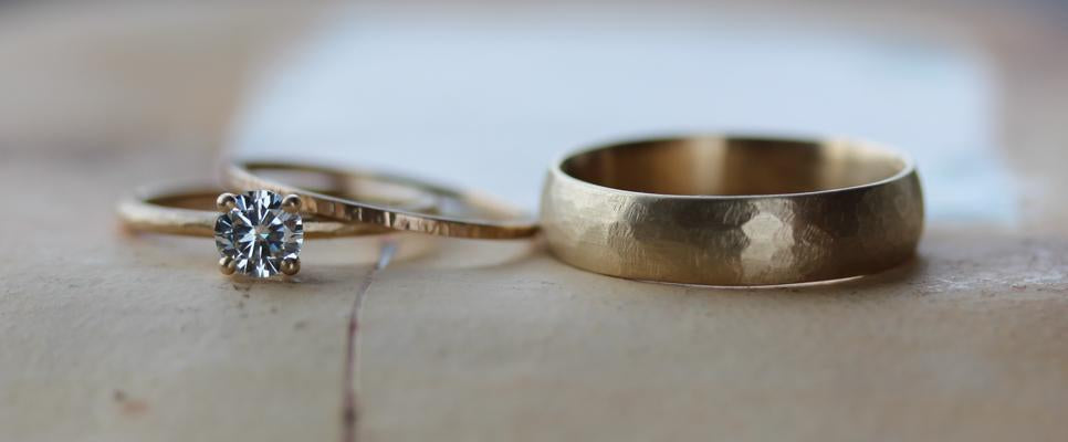 Hand Made Wedding Bands