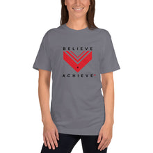 Load image into Gallery viewer, Believe Achieve Unisex Jersey Tshirt