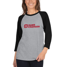 Load image into Gallery viewer, Game Changer Unisex 3/4 sleeve shirt