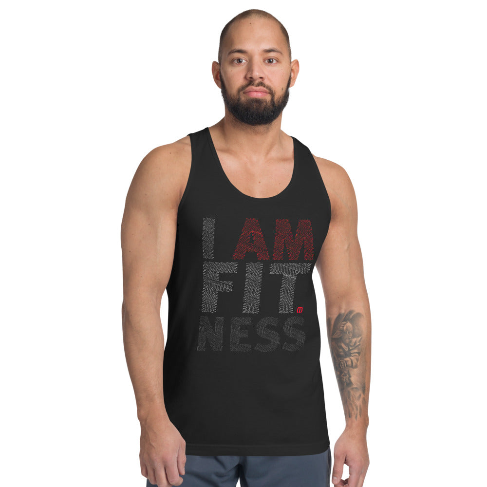 I AM FITNESS Classic tank top (unisex)