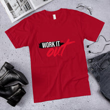 Load image into Gallery viewer, Work It Out Unisex Jersey T-Shirt