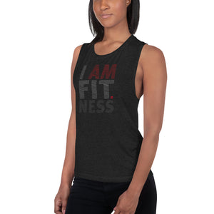 I AM FITNESS A Ladies' Muscle Tank