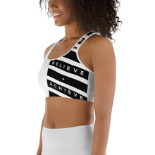 Load image into Gallery viewer, Believe Achieve  Sports bra