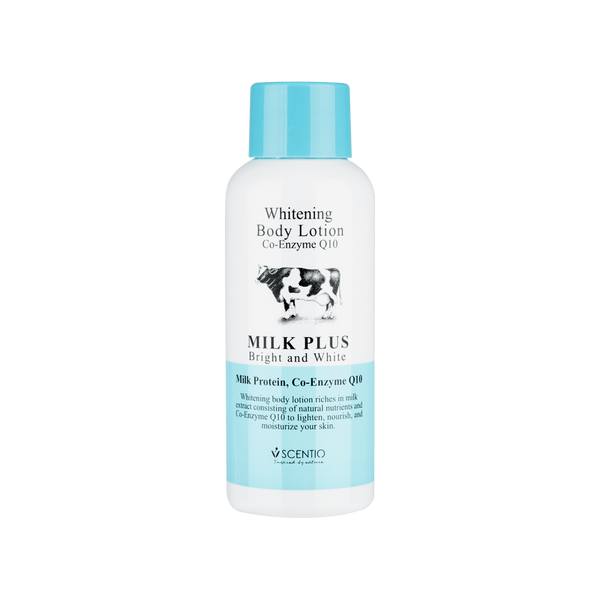 Scentio Milk Plus Whitening Q10 Body Lotion, 30 ml