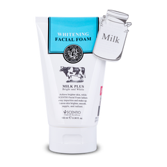 Scentio-Milk-Plus-Whitening-Q10-Facial-Foam-Beauty-Buffet-India-front