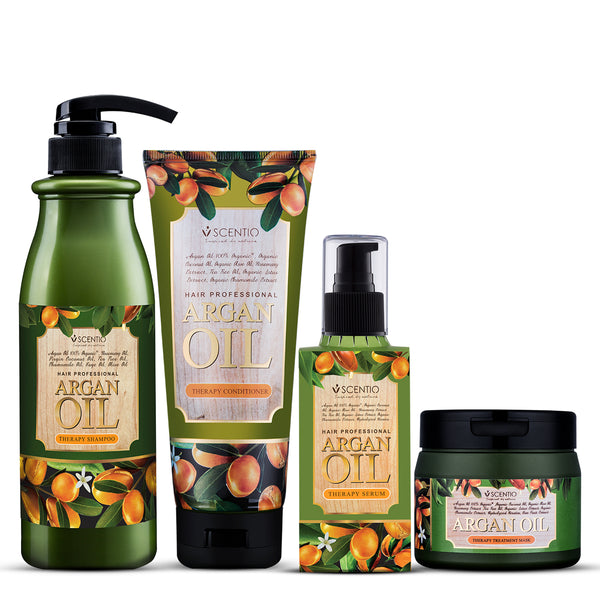 Scentio Argan Oil Therapy Hair Care Series