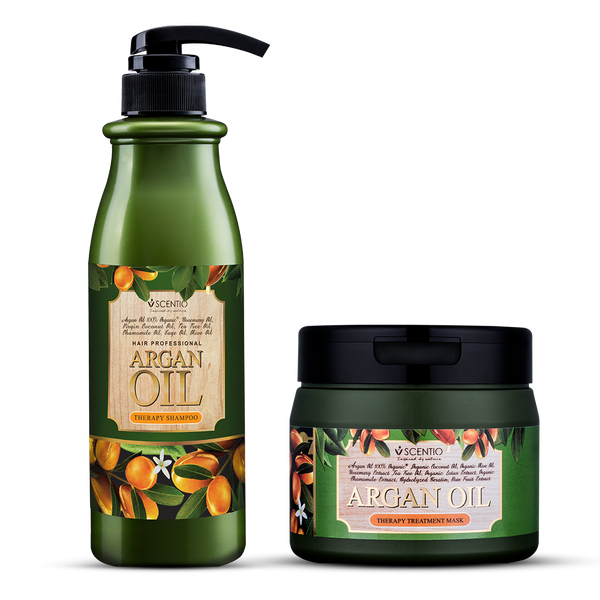 Scentio Argan Oil Shampoo + Mask