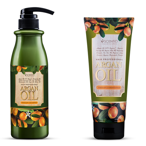 Scentio Argan Oil Shampoo + Conditioner