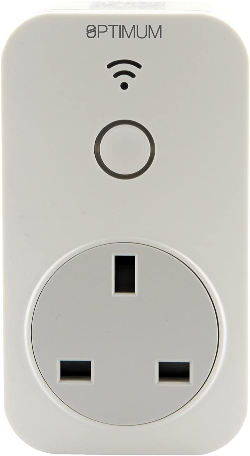 Wi-Fi Enabled Plug in Time Switch, 230 V, White