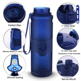Filtering Water Bottle