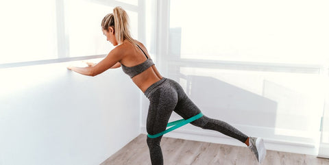 Leg Resistance Exercise Bands