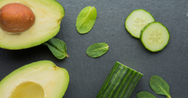 cucumber and avocado mask
